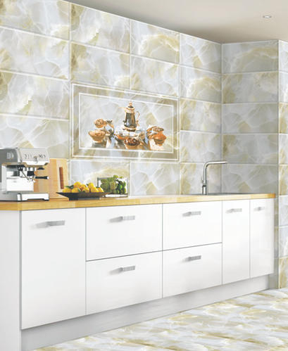 Digital Ceramic 10x15 Kitchen Wall Tiles Thickness 8
