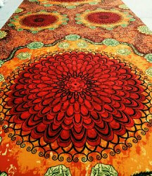 3d Chromojet Banquet Hall Carpet