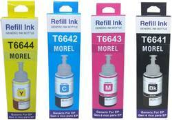 Morel 664 Multi Color Ink For Epson L100, L110, L200, L210, L300, L350, L355, L550 Color Printer