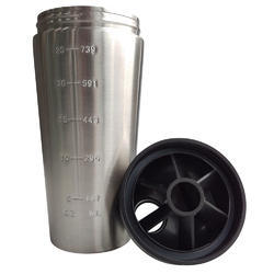 Stainless Steel Gym Shaker