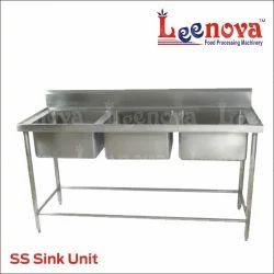 Silver Leenova SS Sink Unit