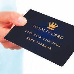 LOYALTY CARDS, Shape: Rectangular
