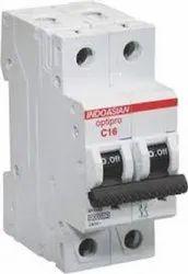240/415 AC Modular MCB Indoasian Neutral Pole 6 -32 AMPS