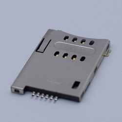 MUP-C792 6 Pin Micro SIM Card Connector (Push-Push Lock Type)