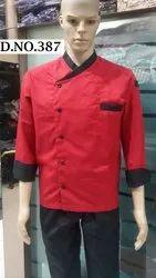 Red Cook Coat