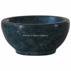 Amazing Green Marble 4 Inch Dessert Bowl