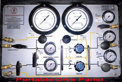 Portable Dive Panel