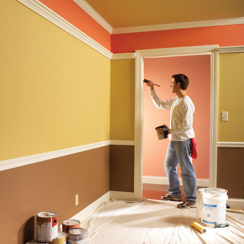 95+ Home Wall Painting Work - Rathi Decor Offers Best Price Quotes ...