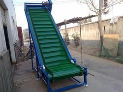 High Angle Belt Conveyor