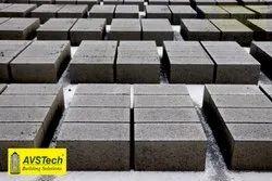 AVS Tech Rectangular Solid Concrete Blocks, Size: 400 x 200 x 150 mm