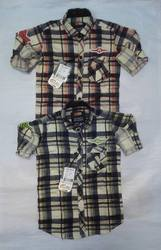 Kids Cotton Check Shirt