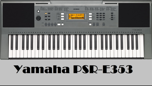 keyboard casio yamaha psr e353 at rs 11490 piece. Black Bedroom Furniture Sets. Home Design Ideas