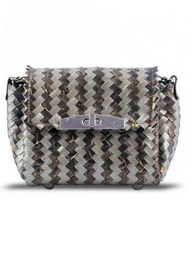 94d2b21d02e1 Metallic Twisted Patterned Leather Bag at Rs 6500  piece ...