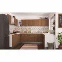 U Shape Modular Designer Kitchen