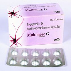 Methylcobalamin 500mcg Pregabalin 75mg