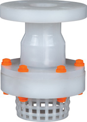 PP Foot Valve Flange End