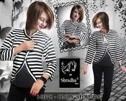 Black & White Rayon Shrugs