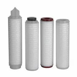 Pleated PP PTFE Sterile Membrane Filter Cartridges