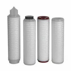 Pleated PP PTFE Sterile Membrane Filter Cartridges