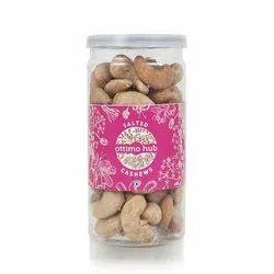 Salted Cashews, Packaging Type: Pet Bottle, Packing Size: 125 Grams