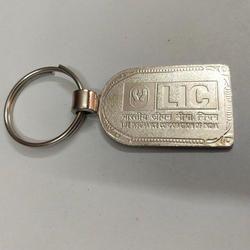 Corporate Embossed Metal Keychain