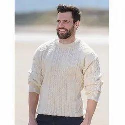Full Sleeves Round Neck Men Sweater