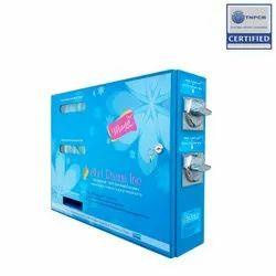 Special Token Acceptable Sanitary Napkin Vending Machine