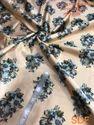 Satin Jari Digitally Printed Fabrics