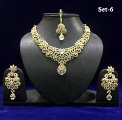 Party Wear Stone Designer Necklace Sets