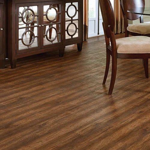 Brown Vinyl Plank Flooring Size Square Feet 50 Sqft