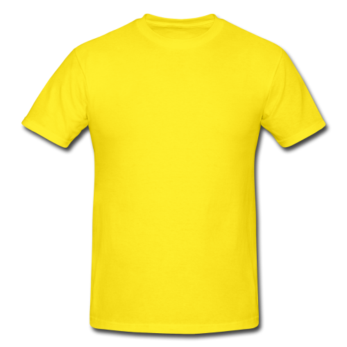 Cotton Plain Yellow Round Neck Casual Half Sleeves T Shirt Rs 255 Piece Id 3479799291