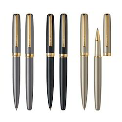 Metal Ball Pen and Roller Pen Gift set