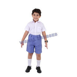 Formal Wear Half sleeves School Uniform, Size: XS