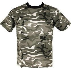 Half Sleeves Camouflage T- Shirts