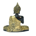 Gold And Black Sitting Buddha Idol