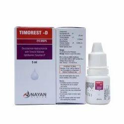 Timorest - D Eye Drop