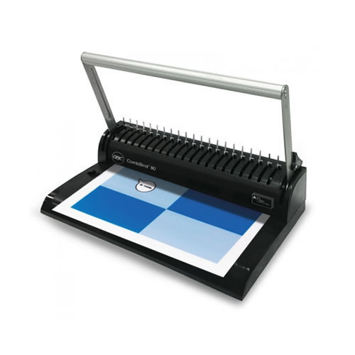 gbc combbind 80 document binder at rs 4720 piece comb binding rh indiamart com