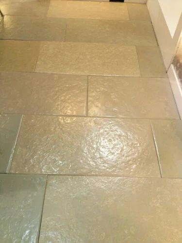 Shahabad Yellow Colour Brush Polish Stone Usage Flooring