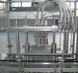 Peristaltic Pump Based Filling Machine
