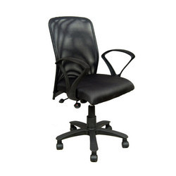 Nice Black Metallic Office Chair