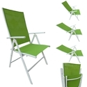 Folding Reclining Chair-7 Stage-Elegent-2 Fold-Green