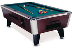 166 & KD Eagle Pool Table (Coin Operated)