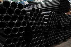 ERW Black Carbon Steel Pipe, Thickness: 2-15mm