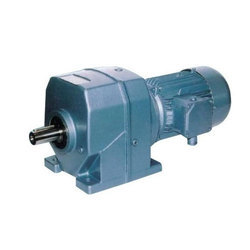 Three Phase Helical Geared Motor, Power: 15 hp