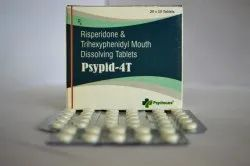 Trihexyphenidyl 2mg With Risperidone 4 Mg Tablets Md Tablet