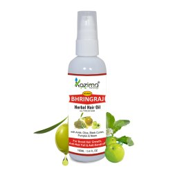 Kazima Bhringraj Herbal Hair Oil