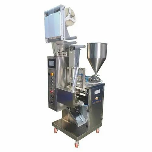 Laminate Ketchup Pouch Packing Machine, Capacity: Up To 20 Gm