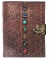 Seven Stone Leather Journals Handmade Notebook with Latch Closure