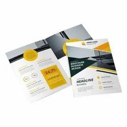 Text Printing Paper Brochures Digital Print Service, in Local