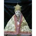 Marble Swami Samarth Maharaj Statue, Indoor, Size: 30 Inch